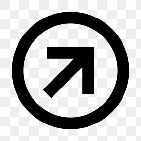 Right Arrow - Share-alike Creative Commons License Copyright PNG