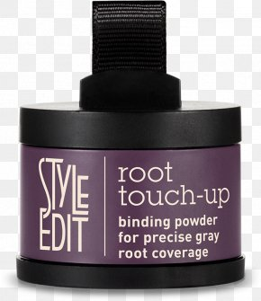 Unique Natural Black Hairstyles - Style Edit Root Touch Up Cosmetics Grey Hair Black PNG