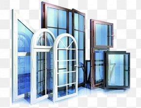 Glass Windows Glass Doors - Window Door Polyvinyl Chloride Insulated Glazing Plastic PNG