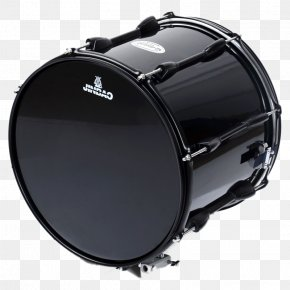Snare Drum Black - Bass Drum Snare Drum Timbales Repinique Drumhead PNG