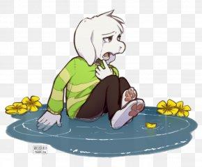 Undertale Flowey Toriel Crying Art PNG