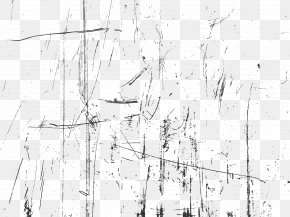 Black And White Scratches - Black And White Monochrome Photography PNG