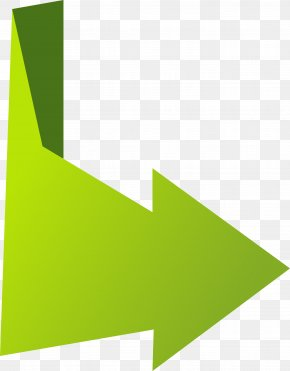 Green Vector Arrow Origami - Paper Arrow Euclidean Vector PNG