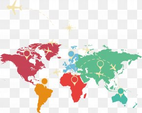 Map - United States India World Map Globe PNG