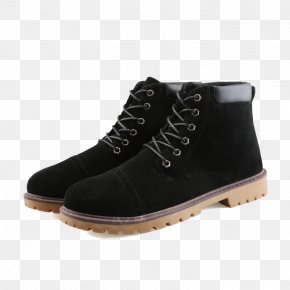 Youth Martin Boots - Snow Boot Shoe Leather PNG