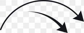 Arc Arrow - Black White Technology Pattern PNG