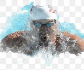 Michael Phelps - Dog Goggles Sunglasses Snout PNG