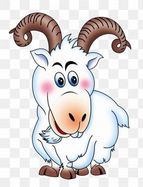 Goat - Goat Sheep Cartoon Animation PNG