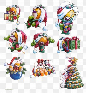 Bear - Christmas Ornament Ded Moroz Bear New Year Clip Art PNG