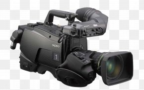 Camera - Video Cameras Sony Camcorders Professional Video Camera PNG