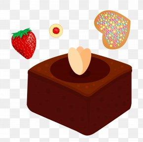 Chocolate Vector Material - Praline Chocolate Frozen Dessert Fruit PNG