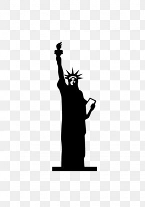 Statue Of Liberty Stamp - Statue Of Liberty Eiffel Tower Icon PNG