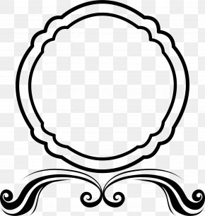 Hand Drawn Black Frame - Picture Frame PNG