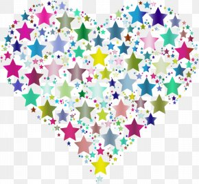 Star - Desktop Wallpaper Star Heart Clip Art PNG
