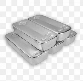 Silver - Silver Gold Bar Metal Icon PNG