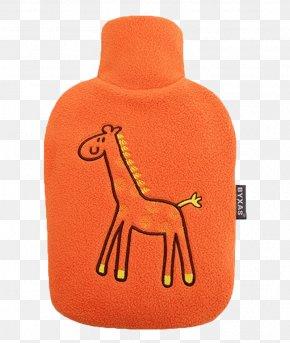 Orange Hot Water Bottle - Germany Hot Water Bottle Tmall Cartoon JD.com PNG