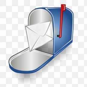 Email Mailbox Icon - Email Box Clip Art PNG