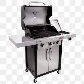 Gas Grill - Barbecue Grilling Char-Broil Signature 4 Burner Gas Grill Gasgrill PNG
