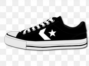 Vector Shoes Image - Converse Shoe Chuck Taylor All-Stars Sneakers Clip Art PNG