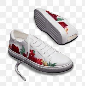 Cole Flowers - Walking Shoe PNG