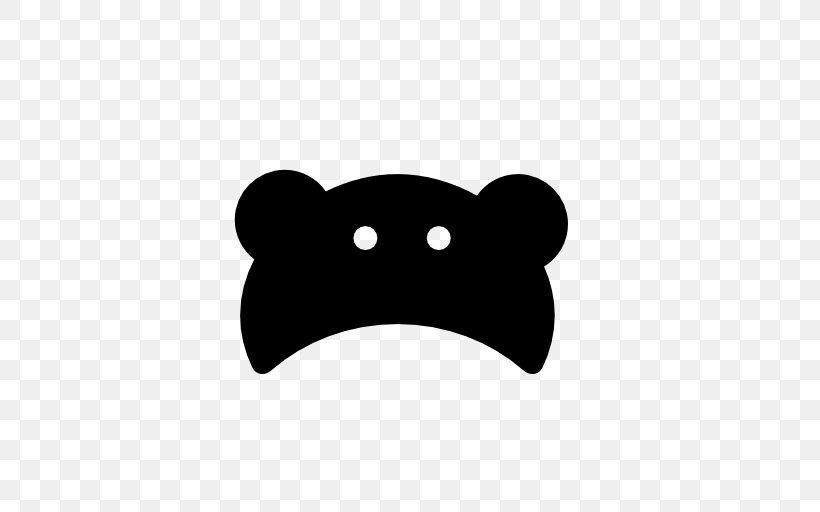 Hat Snout Clip Art, PNG, 512x512px, Hat, Black, Black And White, Black M, Cap Download Free