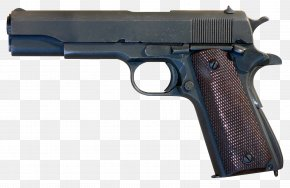 Handgun Image - M1911 Pistol Semi-automatic Pistol Firearm Handgun PNG