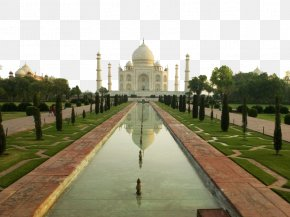 India Building View Quadruple - Taj Mahal Atomium Colosseum Sydney Opera House New7Wonders Of The World PNG