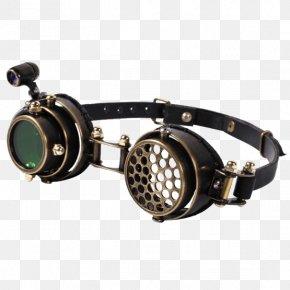 Steampunk Goggles - Goggles Aviator Sunglasses Eye Steampunk PNG