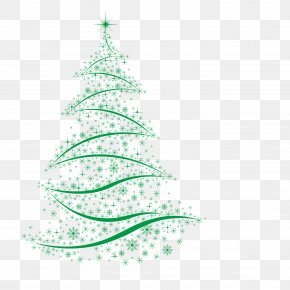 Green Christmas Tree - Christmas Tree Christmas Decoration Santa Claus PNG