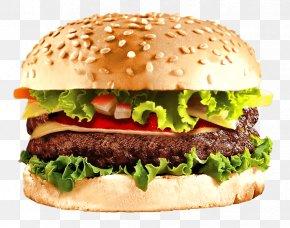 Ham Burger - Hamburger Cheeseburger Fast Food Veggie Burger PNG