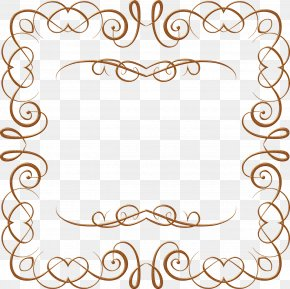 Antique - Painting Gold Picture Frames Clip Art PNG
