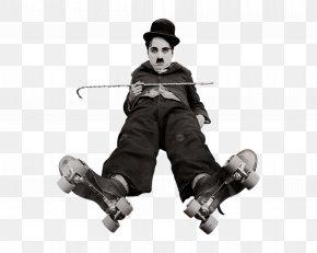 Charlie Chaplin - The Tramp Silent Film Short Film PNG