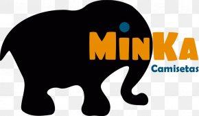 Cat - Indian Elephant African Elephant Cat Logo Mammal PNG