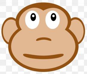 Free Monkey Clipart - Ape Joke Child Drawing Humour PNG