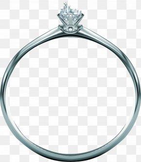 Diamond Ring - Ring Platinum Diamond PNG