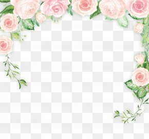 Small Fresh Flowers Background Material - Border Flowers Clip Art PNG