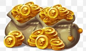 Coin Bag - Gold Coin Bag Gold Coin PNG
