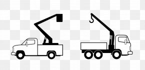 Crane - Mobile Crane Truck Lifting Hook PNG
