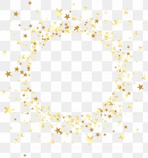 Round Star - Clip Art PNG