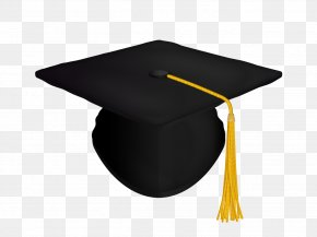 Black Hat - Graduation Ceremony Cap Hat Clip Art PNG