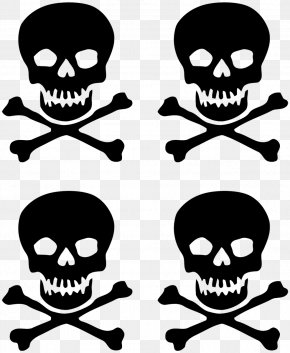 Bad Smell - Skull And Crossbones Sticker Wall Decal T-shirt PNG