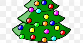 Christmas Tree - Christmas Tree Christmas Decoration Santa Claus Clip Art PNG