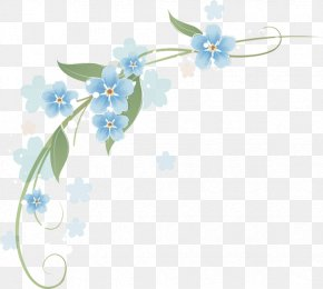 Flower - Clip Art Borders And Frames Flower Image PNG