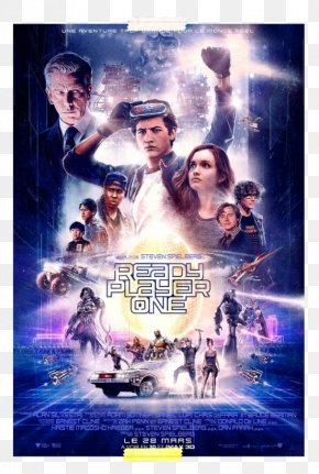 Ready Player One - Ready Player One South By Southwest Daito Film Poster PNG