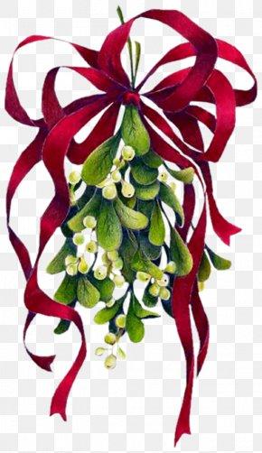 Christmas - Mistletoe Christmas Clip Art PNG