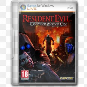 Resident Evil Operation Raccoon City - Action Figure Pc Game Film Video Game Software PNG