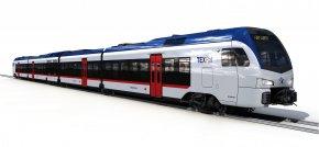 Train - TEXRail Commuter Rail Train Rail Transport Dallas/Fort Worth International Airport PNG