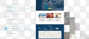 Web Page - Responsive Web Design Cimpress Website Builder Web Template PNG