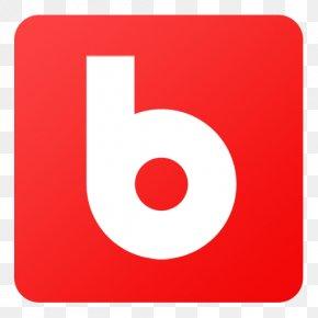 Blip - Symbol Red Logo PNG