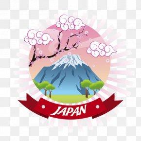 Mount Fuji, Japan Vector Material - Japan Euclidean Vector Clip Art PNG